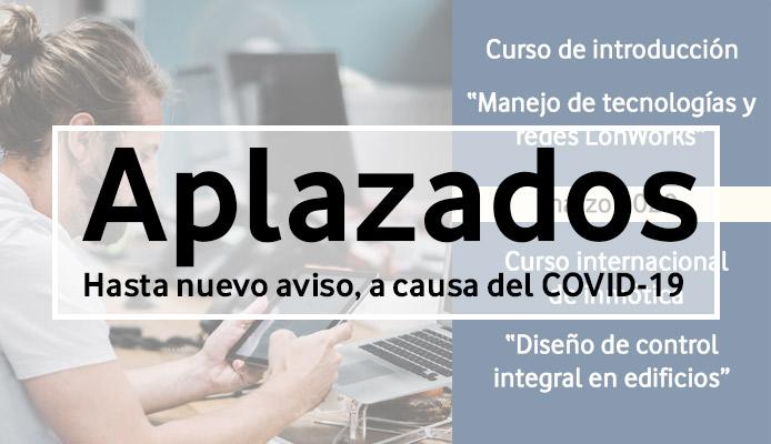 cancelacion curso LonWorks Bogotá por coronavirus