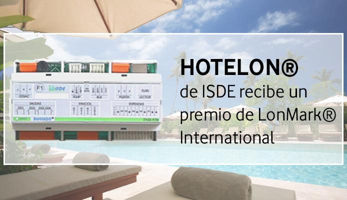 Hotelon de Isde recibe un premio LonMark internacional